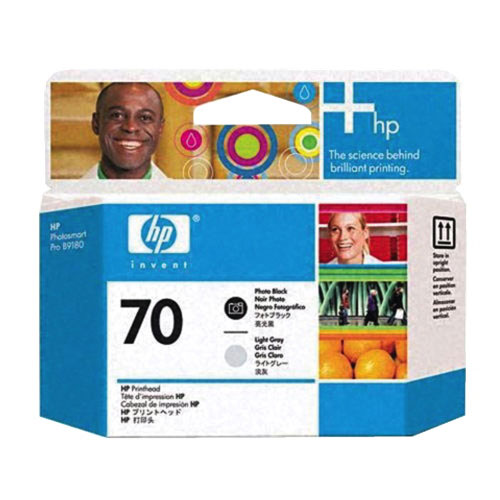 HP 70 Black/Light Grey Ink (C9407A)