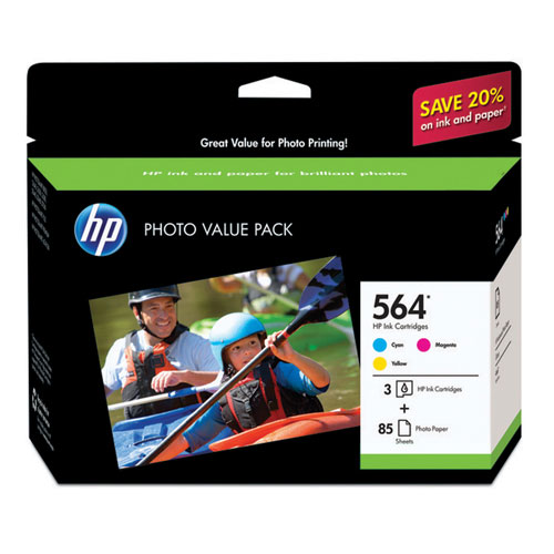 HP 564 Photo Value Pack (CG925AC#140) - 3 Pack