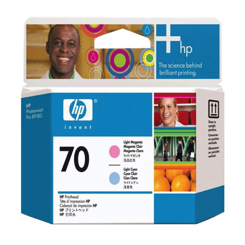 HP 70 Light Magenta/Light Cyan Ink (C9405A)