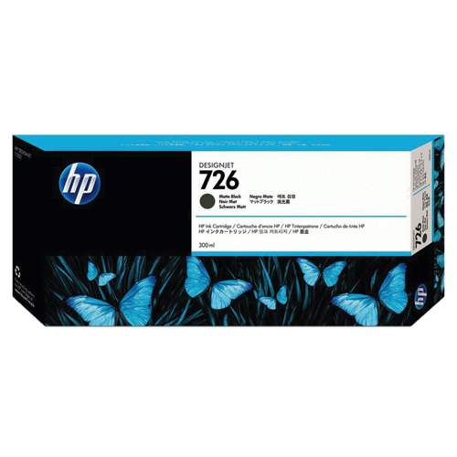 HP 726 Black Ink (CH575A)