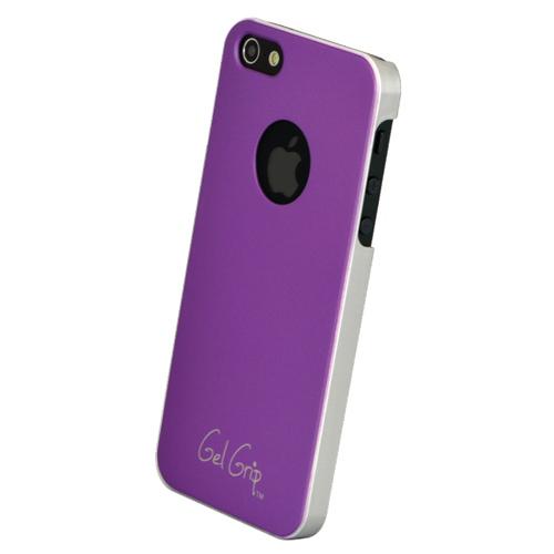 Étui rigide Fiber de Gel Grip pour iPhone 5/5s (IP5F) - Mauve