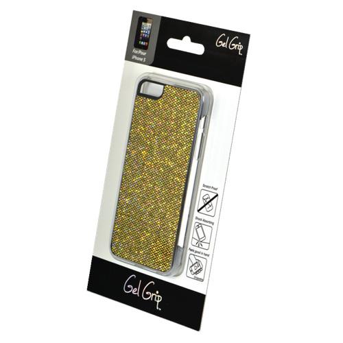 Étui rigide Glitter de Gel Grip pour iPhone 5/5s (IP5GBR) - Brun