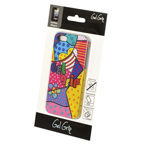 Étui souple de Gel Grip pour iPhone 5/5s (IP5D3) - Rose