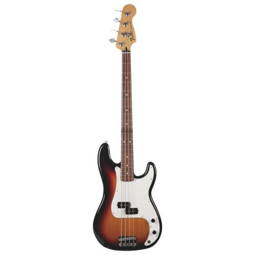 Guitare basse Standard Precision de Fender (0146100532) - Éclat de soleil brun