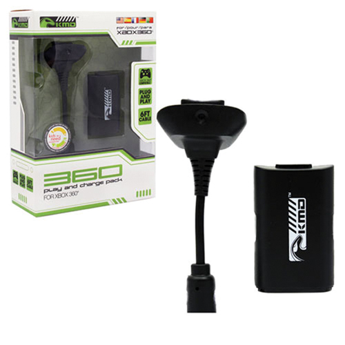 Ensemble Charge & Play de Komodo pour Xbox 360