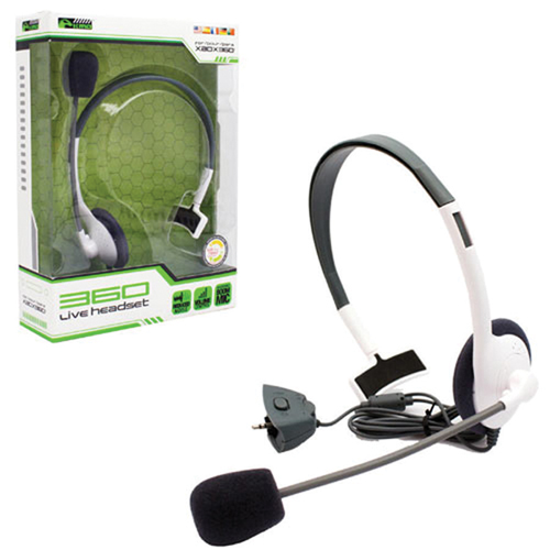 Komodo Wired Gaming Headset for Xbox 360