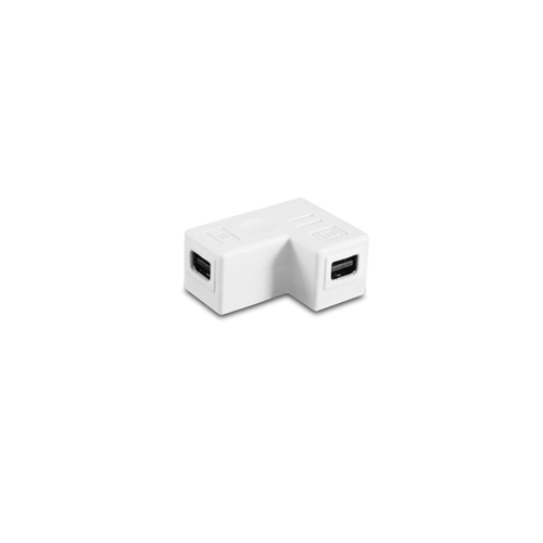 Vantec 90-Degree Mini DisplayPort Female to Female Coupler (CBL-MD90FF)