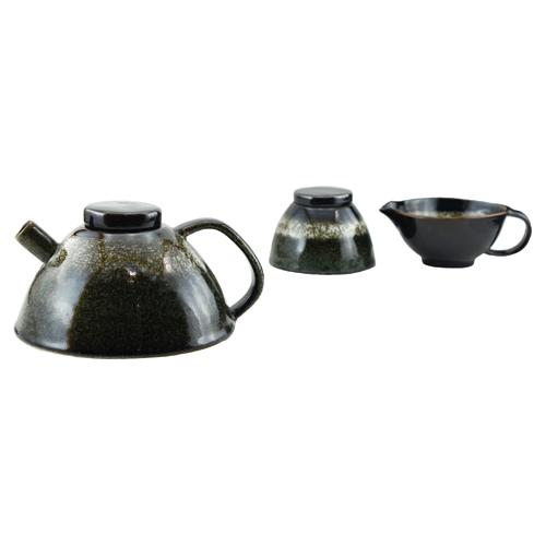 Tannex Inca Teapot (92369) - Green/White/Brown