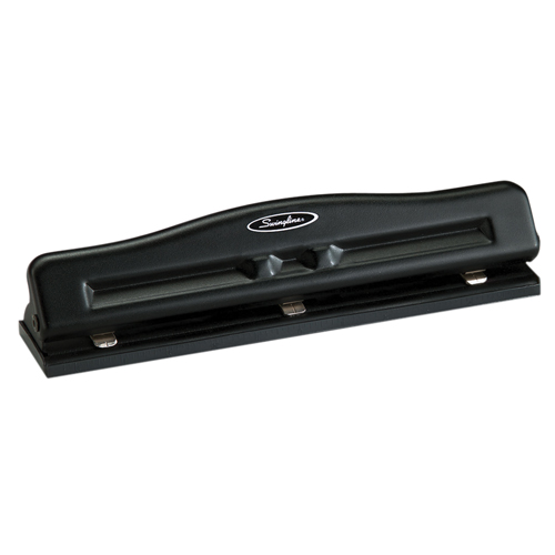 Swingline M20 Adjustable Desktop Hole Punch (5050574020) - Black / 11 Sheets