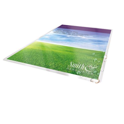 Pochette de pelliculage thermique 9 po x 11,5 po (5 mils) de GBC (3381602460) - Paquet de 100