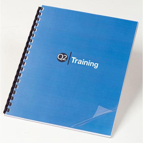 GBC CombBind Presentation Cover (3381600159) - Clear / 100 Per Pack