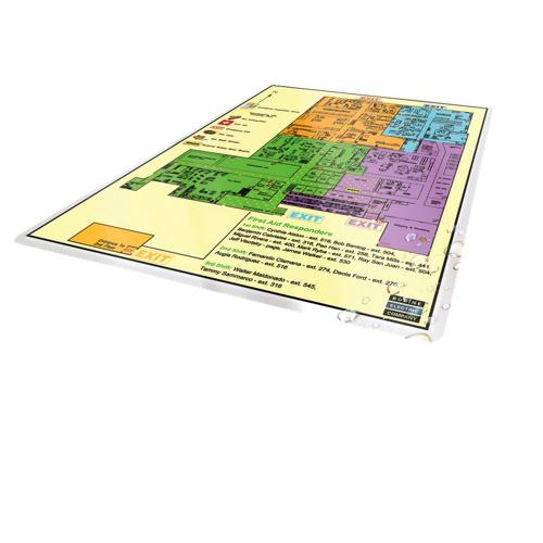 Pochette de pelliculage thermique de 9 po x 14,5 po (3 mils) de GBC (1346559003) - Boîte de 50