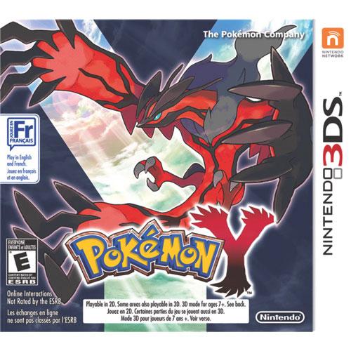 Pokemon Y (Nintendo 3DS) - Usagé
