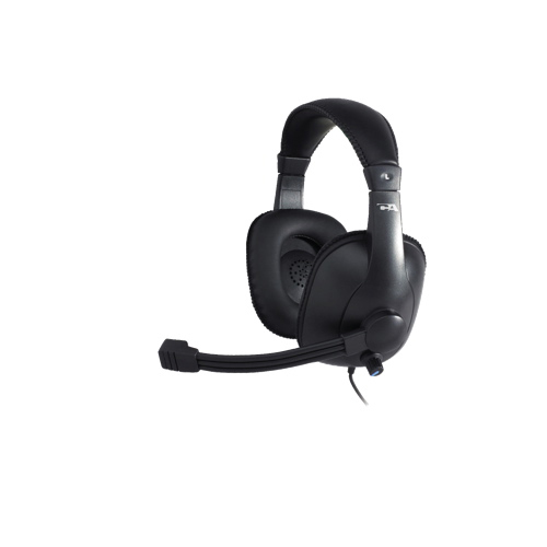 Cyber Acoustics Over-Ear Headset with Mic (AC-960) - Black