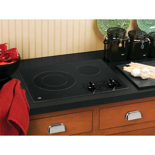 Top Ranked Electric Cooktops ~ Ge compact quot smooth top electric cooktop jp bmbb