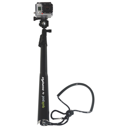 Pied Quikpod Extreme de Digipower pour GoPro (TP-QPXT)