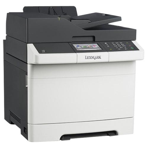 Imprimante laser couleur tout-en-un de Lexmark avec télécopieur (CX410DE)
