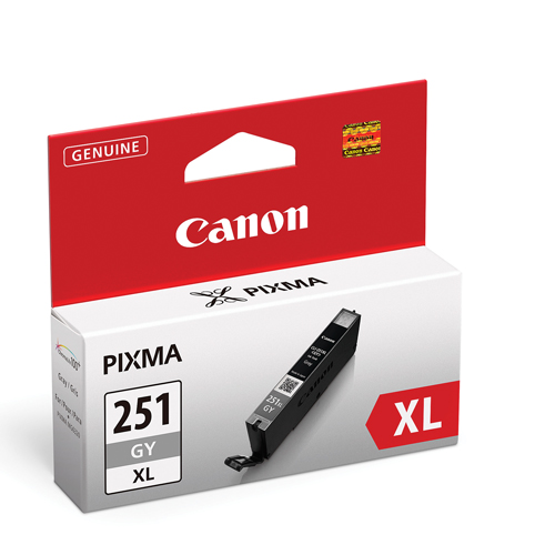 Canon CLI-251XL Grey Ink (6452B001)
