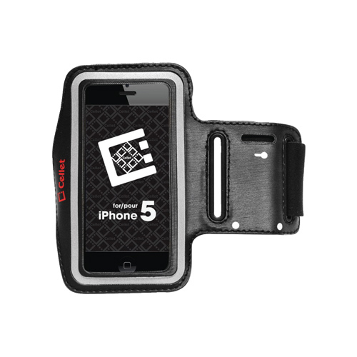 Cellet iPhone 5/5s Armband (F63385) - Black