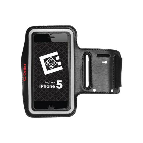 Brassard de Cellet pour iPhone 5/5s (F63385) - Noir