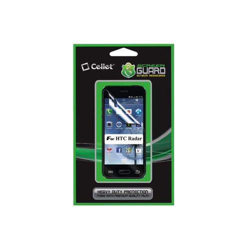 Protecteur d'écran Screen Guard de Cellet pour Radar de HTC (F63141)