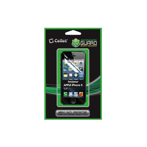 Cellet Screen Guard iPhone 5/5s Screen Protector (F62054)