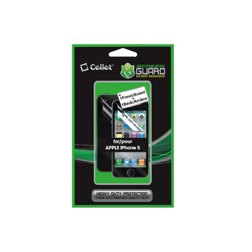 Cellet Screen Guard iPhone 5/5s Full Body Protector (F62992)