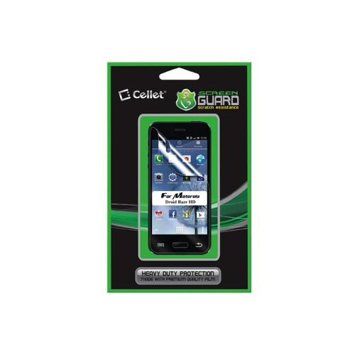 Cellet Screen Guard Motorola Droid Razr HD Screen Protector (F63137)