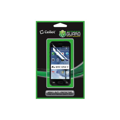 Cellet Screen Guard HTC One V Screen Protector (F63142)