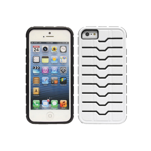 Étui rigide Proguard de Cellet pour iPhone 5/5s (F50484) - Blanc