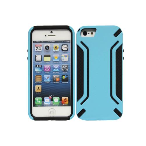 Étui rigide Armorguard de Cellet pour iPhone 5/5s (F63613) - Bleu