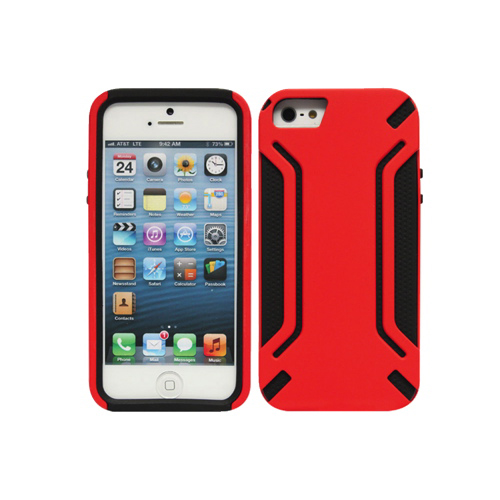 Cellet Armorguard iPhone 5/5s Hard Shell Case (F63616) - Red