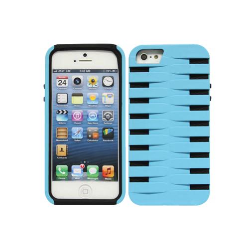 Étui rigide Armorguard de Cellet pour iPhone 5/5s (F63130) - Bleu