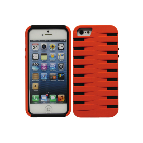 Cellet Armorguard iPhone 5/5s Hard Shell Case (F63132) - Orange