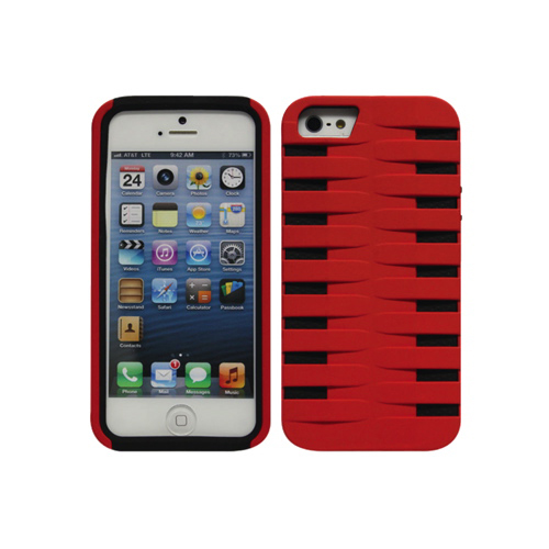 Cellet Armorguard iPhone 5/5s Hard Shell Case (F63133) - Red