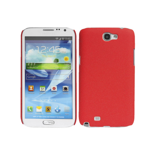 Cellet Proguard Samsung Galaxy Note II Hard Shell Case (F63718) - Red
