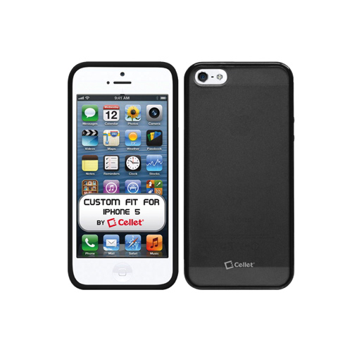 Cellet iPhone 5/5s Hard Shell Case (F63568) - Black