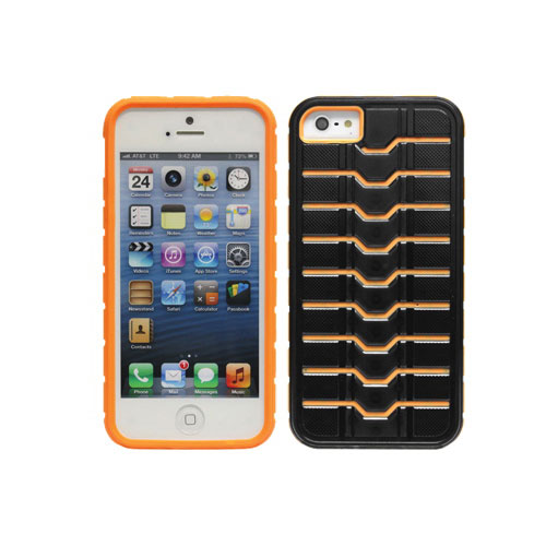 Cellet Proguard iPhone 5/5s Hard Shell Case (F50499) - Orange/Black