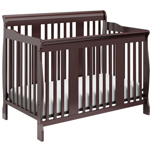 Stork Craft Tuscany 4-In-1 Convertible Crib - Espresso