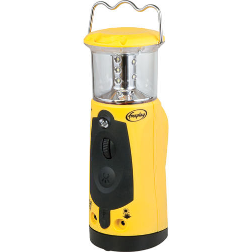 Freeplay Indigo + LED Lantern (A205-TL2-YL1-0000-FP) - Yellow