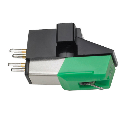 Audio-Technica Dual Magnet Cartridge (AT95E) - Black / Green / Silver