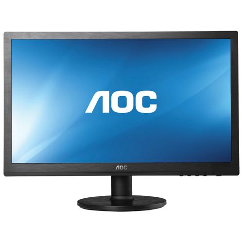 """AOC 21.5"""" 5ms LCD Monitor (E2260SWDN) - Black"""