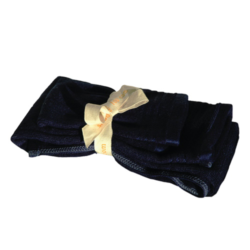Shoo-Foo 2-Piece Guest Towel Set (SMALLSET) - Blue