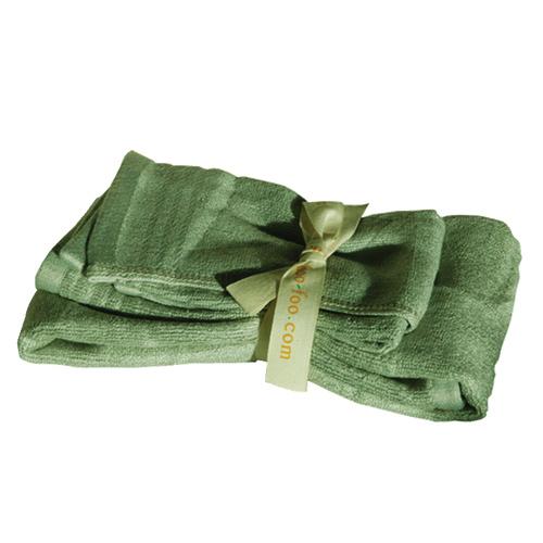 Ensemble de 2 serviettes pour invités de Shoo-Foo (SMALLSET) - Vert
