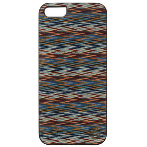 Affinity iPhone 5/5s/SE Wood Hard Shell Case - Blue