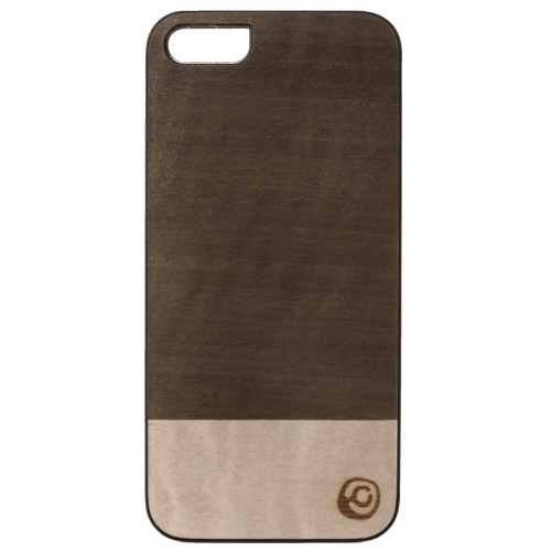Affinity iPhone 5/5s Wood Hard Shell Case (ZIM578) - Green