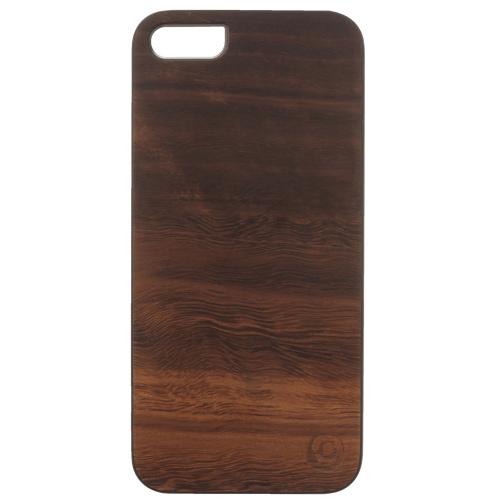 Étui rigide en bois d'Affinity pour iPhone 5/5s (ZIM536) - Brun