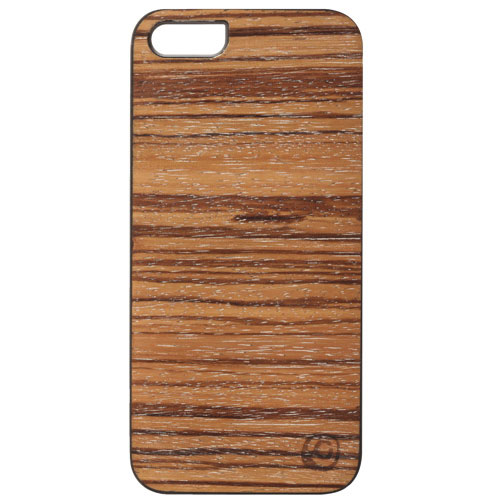Affinity iPhone 5/5s Wood Hard Shell Case (ZIM540) - Brown
