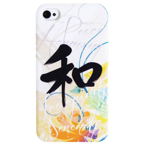 Étui rigide Harmony d'Exian pour iPhone 4/4S (4G148) - Blanc