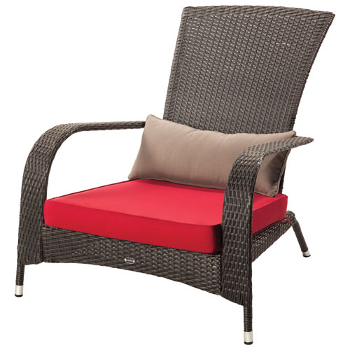 Wonderful Transitional Patio Adirondack Chair   Black : Outdoor Chairs   Best Buy  Canada
